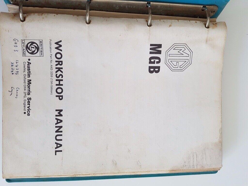 mgb workshop manual