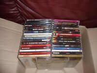 JOB LOT OF HEAVY DEATH THRASH METAL CDS 47 OF BARGAIN ONLY £50 SOME DOUBLES/TREBLES
