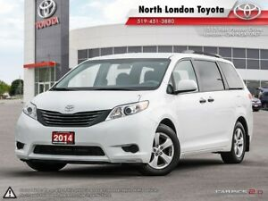 2014 Toyota Sienna 7 Passenger Combined city and highway fuel...