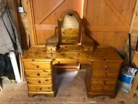 Ducal pine dressing table