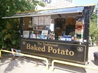 Jacket Potato Catering Business to Let! Amazing opportunity! Start Straight Away!