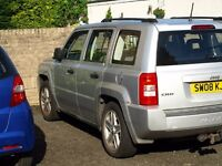 Jeep Patriot silver
