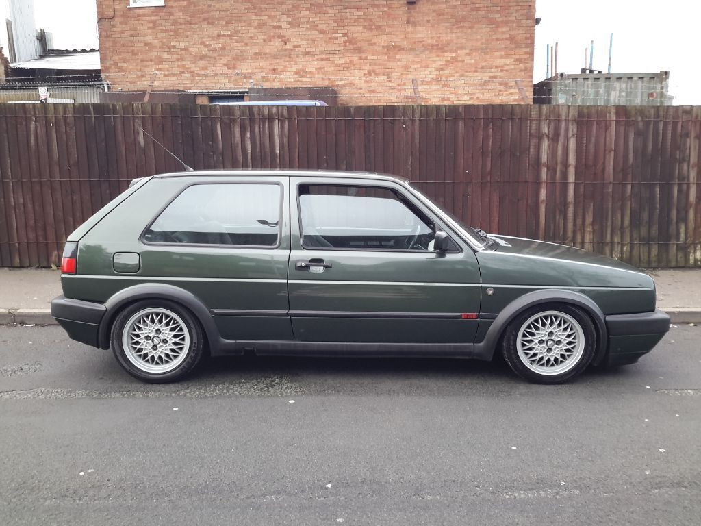 Mk2 Golf Gti 16v Running 1 9tdi Oak Green Rare In