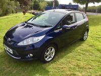FORD FIESTA 1.4 TDCI DIESEL, 2012, 5 DOOR, LOVELY CAR **FINANCE THIS FROM £27.50 PER WEEK**