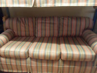 3 and 2 seater sofas ex con