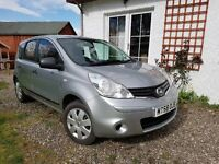 EVEN LOWER PRICE 2009 Nissan Note Visia 1.4 (Silver /Petrol ) 5 dr MOT Jan 2018 & service history