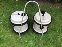2 40 litre aquarols camping caravan Motorhome campervan fresh water barrels 80 litres