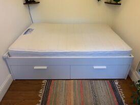 Ikea Brimnes double bed