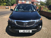 2010 KIA SORENTO 2.2 CRDi AUTOMATIC KX-3 4X4 7 SEATER FULLY LOADED EXCELLENT FAMILY CAR