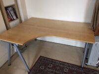 Large IKEA desk in great condition (Galant desk)