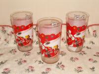 Coca Cola glass set.
