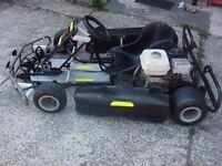 for sale go-kart honda engine 160cc very good engine tires clutch ready to go