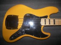 Fender Squier Jazz Bass Style by J&D.
