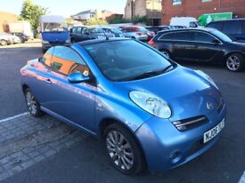 2006 Nissan Micra Convertible Good Runner with history and mot