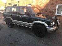 1995 Isuzu Trooper, well used, low miles long mot 7 seats