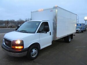 2016 GMC Savana 3500 16 Foot Cube VAN