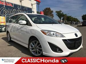 2014 Mazda MAZDA5 GT LEATHER CLEAN CARPROOF SUNROOF ALLOYS