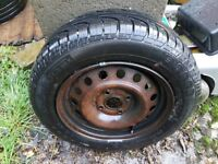 Steel wheel and tyre Pirelli P6000 195/60 P15 88V