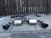 Miltek exhaust rs/st