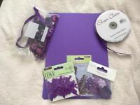 Purple Craft items for weddings etc