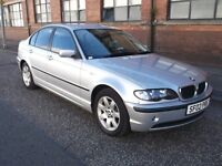 BMW 316 ISE MANUAL 4 DOOR SILVER 2002 MOT MARCH 17 ONLY 1 FORMER KEEPER 92000 MILES FULL SERVICE HIS