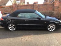 Black convertible Saab for sale