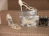 Shoes.Jewellery and Fasinator