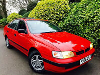 **ONLY 34K+AUTO** TOYOTA CARINA E 1.8 SOLAIR + 12 TOYOTA STAMPS + 90 YR OLD PENSNR OWNR FROM NEW+VGC