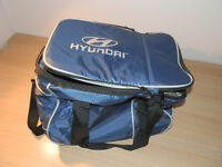 Hyundai branded cool bag on wheels