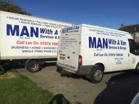 Man with a van services & storage