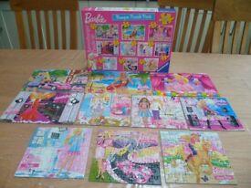10 in 1 Barbie Bumper Jigsaw Puzzle Pack