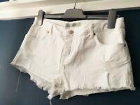Denim shorts Top Shop size 12