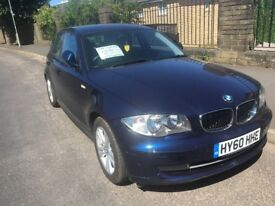 Bmw 118d manual diesel 5 seat and 5 door damaged repaired