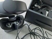 Oculus Rift S Virtual Reality VR headset and controllers black. Barely used. Boxed.