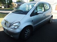 Mercedes A Class 2003 Automatic. 61,000 miles