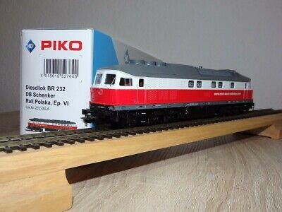 Piko 52764, H0, Diesellok BR 232 DB Schenker Rail Polska, DC, OVP