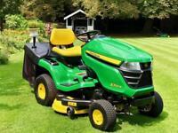 "John Deere X350R Ride On Mower - 42"" Deck - Mulch kit - Lawnmower / Countax / Westwood / Honda"