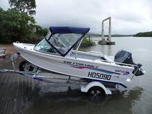 Quintrex Fishabout 4.3 Yamaha 40HP 4stroke Alum trailer AS NEW Lucinda Hinchinbrook Area Preview