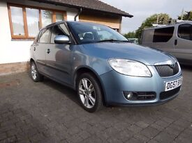 Skoda Fabia 3, 1.9Tdi, five door hatchback, low mileage, one lady owner, full service history