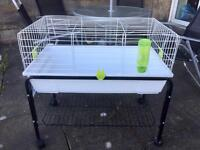 Small pet cage and stand