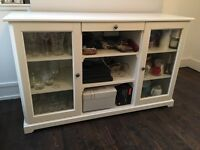 IKEA LIATORP large white sideboard in good condition