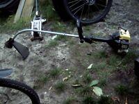 talon petrol twin cord strimmer