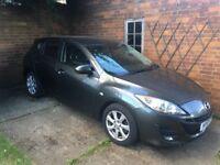 Mazda 3 - 2010 - Grey - 99,000 miles - £3,400