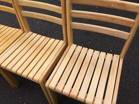 4 chairs MINT CONDITION