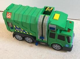Rubbish lorry with lights & sounds