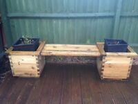 Planting bedding bench