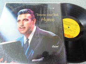 Tennessee Ernie Ford ‎– Hymns Capitol Records (Canada) ‎– SM-756 Vinyl, LP Excellent+