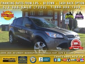 2014 Ford Escape SE-$62/Wk-Bluetooth-RearCam-CD/AUX/Mp3-Cruise London Ontario image 1
