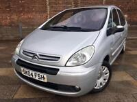 2004 CITROEN PICASSO / ELECTRIC WINDOWS / CD / GREAT DRIVER / MAY MOT .