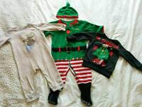 Christmas clothes size 9-12 months